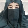 niqab ready to wear front picture sea green