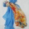 chiffon printed scarf print 6 full picture