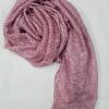 crinkle silk scarf dirty pink full picture