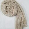 crinkle silk scarf nude full picture