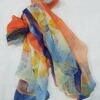 chiffon printed scarf print 3 full picture