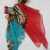 chiffon printed scarf print 4 full picture
