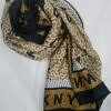 dkny silk printed scarf print 1 full picture