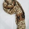 dkny silk printed scarf print 5 full picture