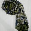dkny silk printed scarf print 6 full picture