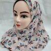 printed loops chiffon instant hijab print 5