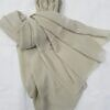 plain chiffon scarf olive green full picture
