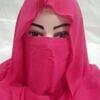 niqab ready to wear fucsia