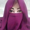 niqab ready to wear magenta