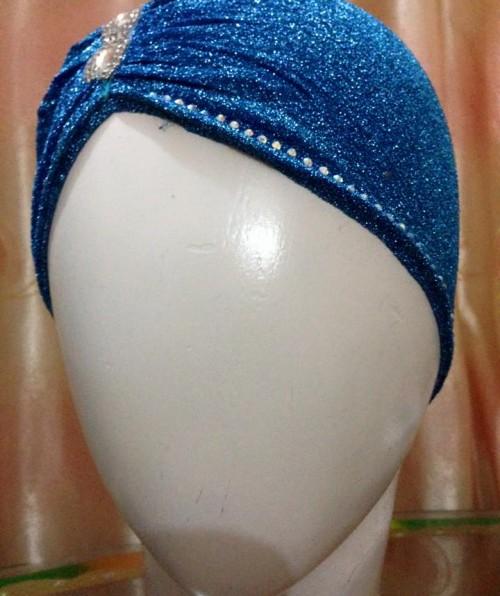 Shimmer Side Parting Cap – Blue