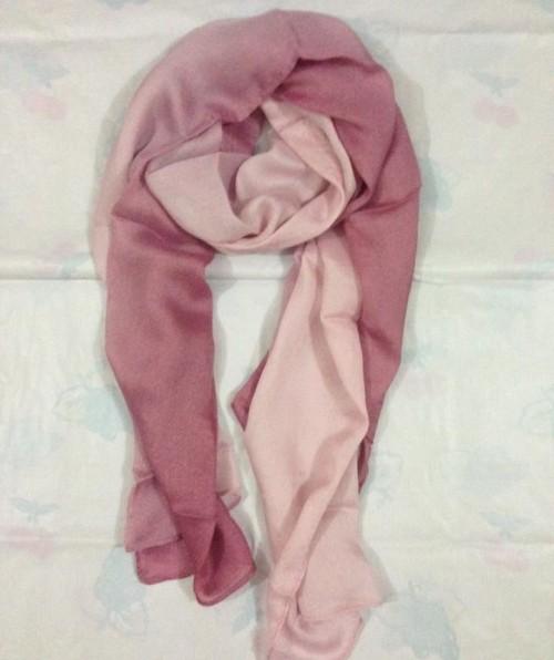 Two Tone Scarf – Tea Pink