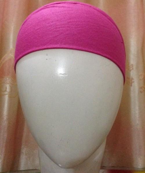 Bandana Headband – Deep Pink