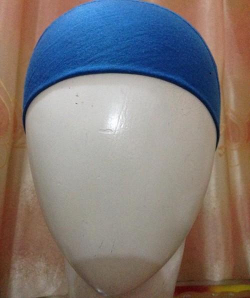 Bandana Headband – Blue