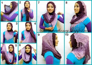 Tone Hijab Style