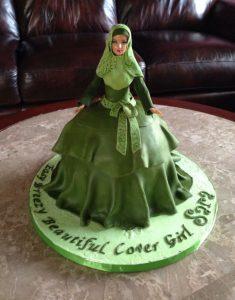 Cake Entrepreneur Hijab Mariam Akber