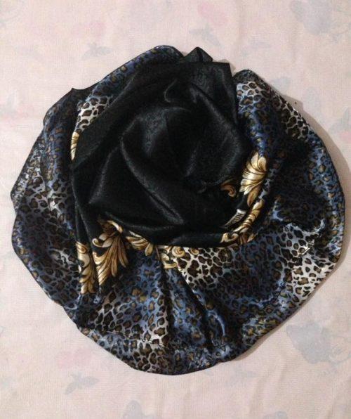 Turkish Head Wrap – Blue