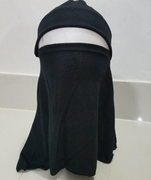 Full Niqab Underscarf - Black