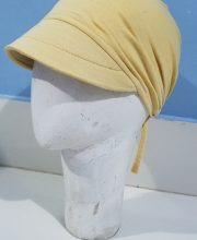 Canvas with Tie Back Bonnet - Skin - Side Picture