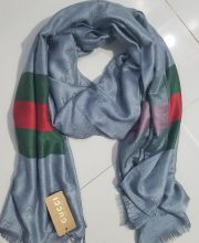 Gucci Scarf - Grey - Full Picture