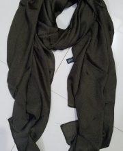 Silk Chiffon Scarf - Brown - Full Picture