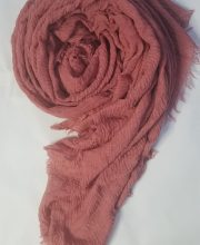 Crimps Lawn Scarf – Dull Brown – Full Picture