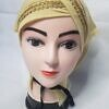 side parting cap with lace light yellow front picture