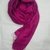 silk printed scarf fuchsia full picture