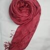 silk printed scarf watermelon color full picture